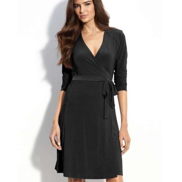 a0d03366285 NWT Petite Ann Taylor Black Tie Back Dress